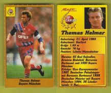 Bayern Munich Thomas Helmer Germany 85